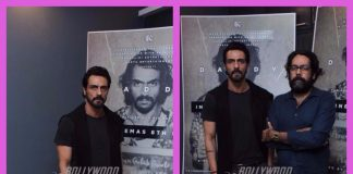 Arjun Rampal and Ashim Ahluwalia promote Daddy
