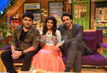 Arjun Rampal and Aishwarya Rajesh promote Daddy on sets of The Kapil Sharma Show