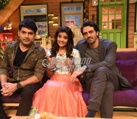 Arjun Rampal and Aishwarya Rajesh promote Daddy on sets of The Kapil Sharma Show