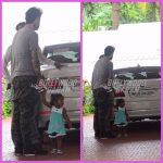 Sunny Leone's daughter Nisha photographed with dad Daniel Weber
