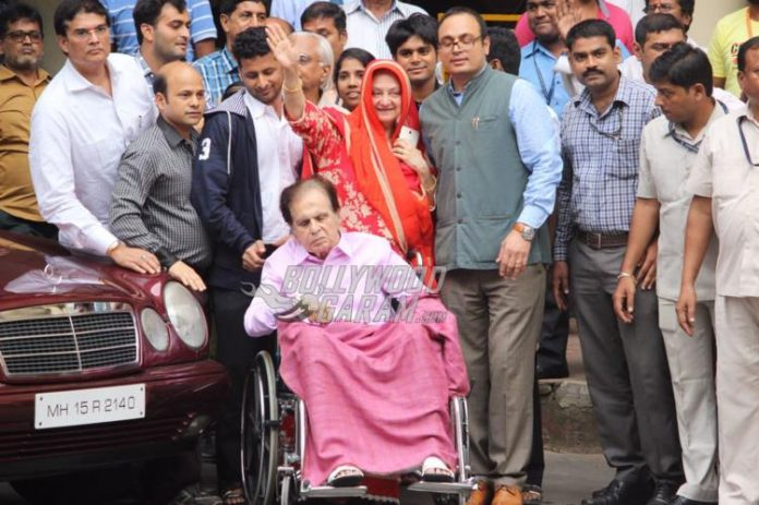 Dilip Kumar discharged-1