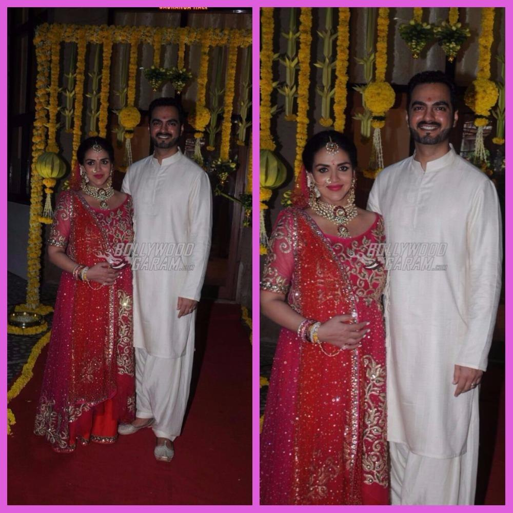 Esha Deol and Bharat Takhtani get married again on day of