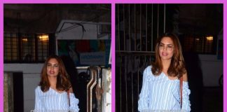 Esha Gupta photographed on a casual outing in Mumbai