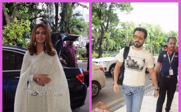 Emraan Hashmi and Esha Gupta off to Lucknow for Baadshaho promotions