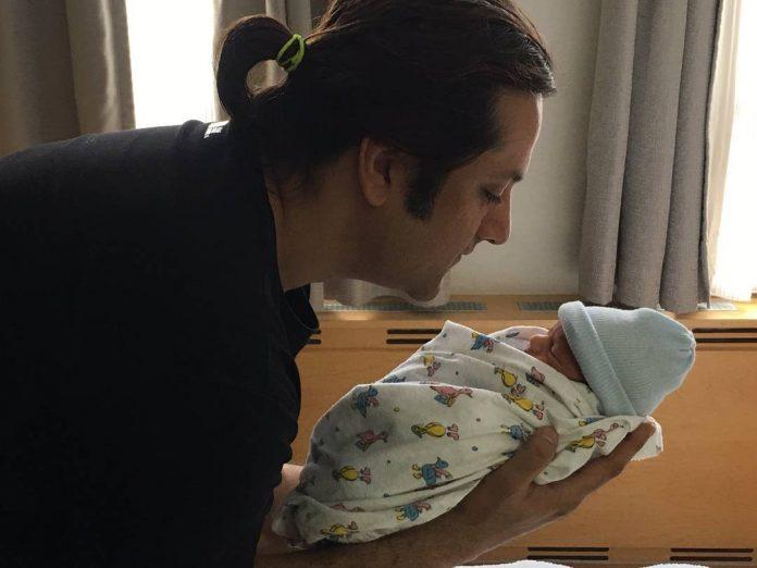 Fardeen Khan baby
