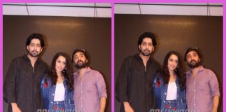 Cast and crew of Haseena Parkar launch music at an event