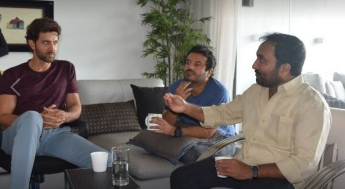 Hrithik meeting Anand Kumar