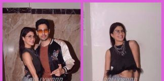 Jacqueline Fernandez and Sidharth Malhotra photographed in their best mood in Mumbai