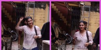 Kajol gets clicked outside Pradeep Sarkar's office in a trendy avatar