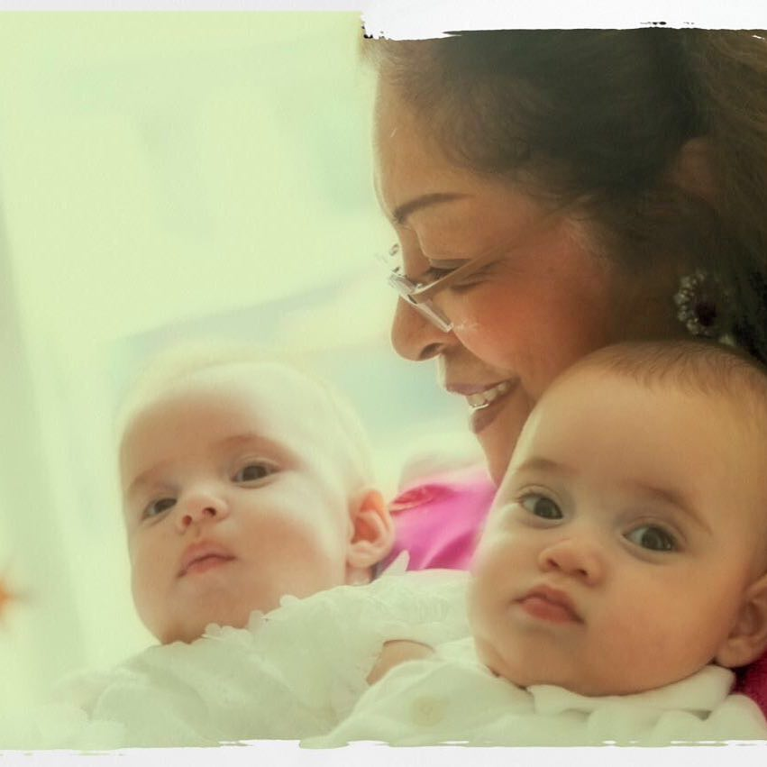 Karan Johar reveals first picture of his twins Yash and Roohi