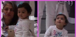 Shahid Kapoor and Mira Rajput's daughter Misha Kapoor snapped with grandmother