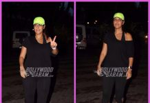Neha Dhupia photographed walking on the streets of Mumbai