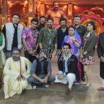 Shreyas Talpade and Sunny Deol enjoy time at Comedy Dangal set promoting Poster Boys