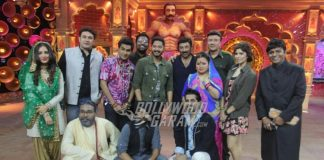 Shreyas Talpade and Sunny Deol enjoy time at Comedy Dangal set promoting Poster Boys