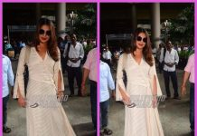 Priyanka Chopra snapped at airport as she returns to Mumbai