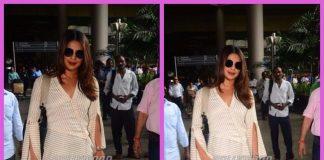 Priyanka Chopra snapped at airport as she returns to Mumbai