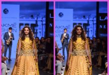 Lakme Fashion Week Winter/Festive 2017 – Radhika Apte walks the ramp for Sailesh Singhania