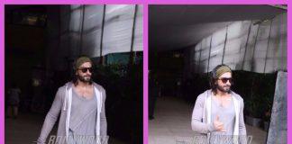 Ranveer Singh looks dapper as he exits a club