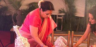 Raima Sen shares sister Riya Sen's wedding picture