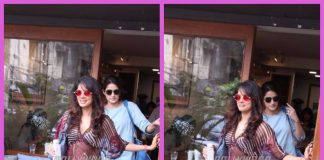 Vidya Malvade and Sagarika Ghatge snapped spending time over lunch
