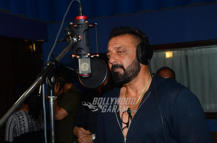 Sanjay Dutt records his first Ganesh Aarti for Bhoomi