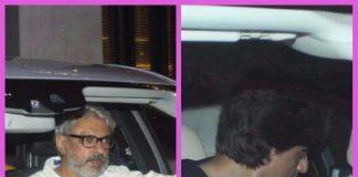 Shah Rukh Khan and Sanjay Leela Bhansali snapped visiting new store by Gauri Khan