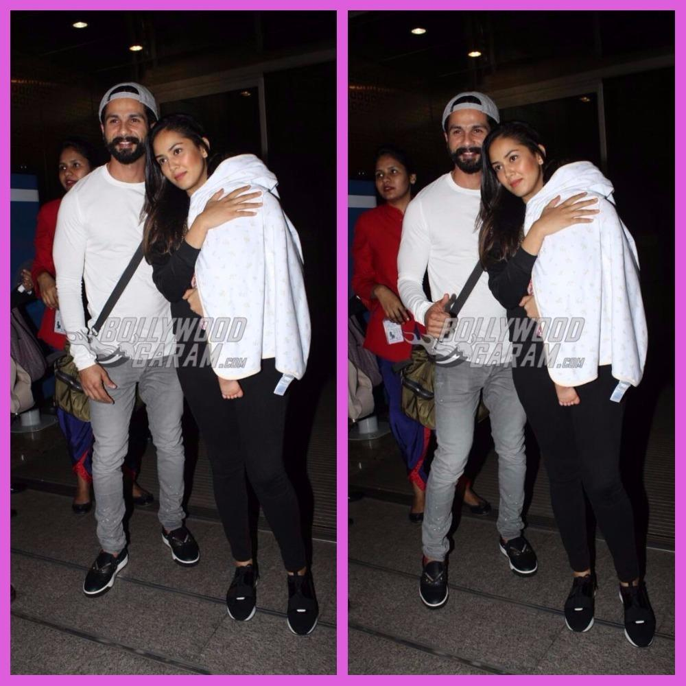 Shahid Kapoor Off On His First Family Vacation With Mira And Misha