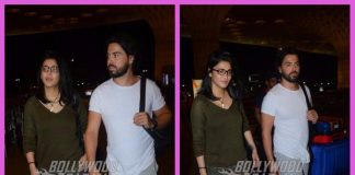 Shruti Haasan and rumoured beau Michael Corsale photographed at airport