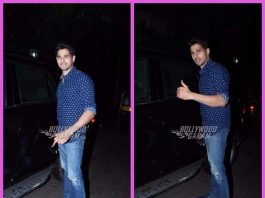 Bollywood celebrity street style – Sidharth Malhotra spotted on a casual outing in Mumbai!