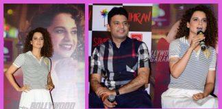 Kangana Ranaut launches trailer of Simran at an event