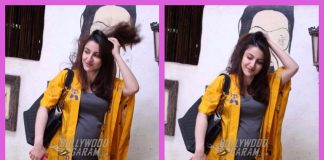 Soha Ali Khan flaunts her stylish side with a baby bump outside a salon