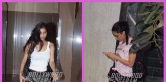 Suhana Khan and Shraddha Kapoor photographed at casual outings in Mumbai