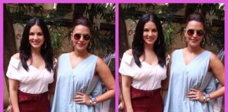 Sunny Leone photographed with Neha Dhupia post No Filter Neha shoot