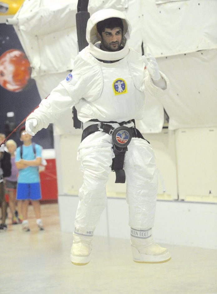 Sushant Singh Rajput NASA training
