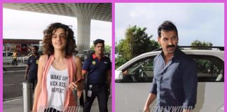 Celebrity airport fashion – Taapsee Pannu, John Abraham take casual dressing to the next level!