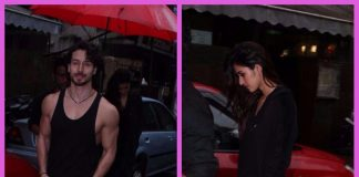 Tiger Shroff and rumoured girlfriend Disha Patani photographed on a lunch date