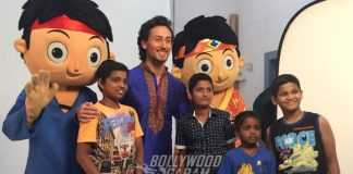 Tiger Shroff shoots for children's entertainment channel