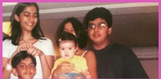 Arjun Kapoor shares adorable throwback picture with Sonam Kapoor and cousins