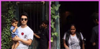 Aayush Sharma, Arpita Khan and son Ahil spend quality time over lunch – PHOTOS