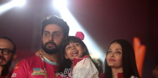 Aaradhya Bachchan grabs all the limelight from parents Abhishek Bachchan and Aishwarya Rai Bachchan