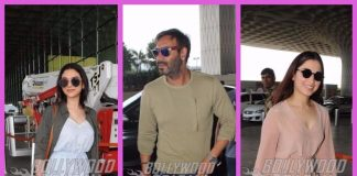 Ajay Devgn and other B'towners turn airport into fashion runway