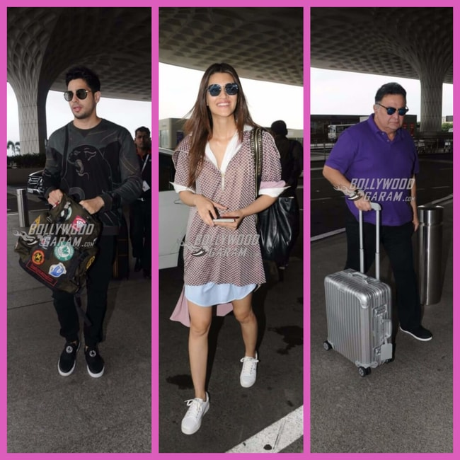 Airport Bolly celebs