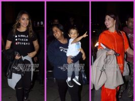 Sonakshi Sinha, Arpita Khan, Jacqueline Fernandez snapped leaving for London – PHOTOS inside