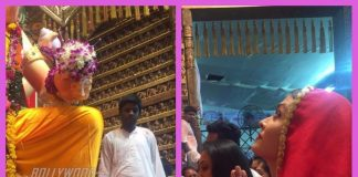 Aishwarya Rai Bachchan looks gorgeous during her Lalbaugcha Raja visit – PHOTOS