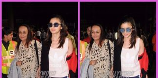 Alia Bhatt snapped with mother Soni Razdan at airport – PHOTOS