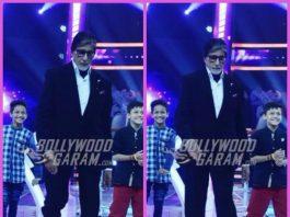 Amitabh Bachchan shakes a leg with contestants of Super Dancer 2 on KBS 9 – PHOTOS