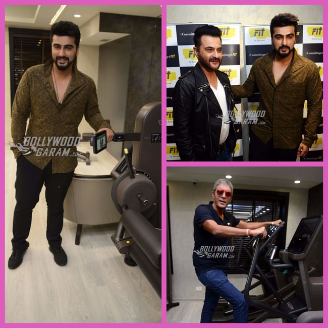 Arjun Kapoor gym launch