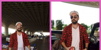 Ayushmann Khurana sported casual look at Mumbai airport – PHOTOS