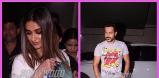 Emraan Hashmi and Ileana D'Cruz grace special screening of Baadshaho