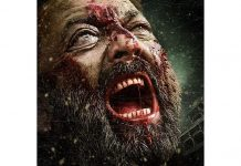 Bhoomi new poster shows bloodied Sanjay Dutt angry and agonized